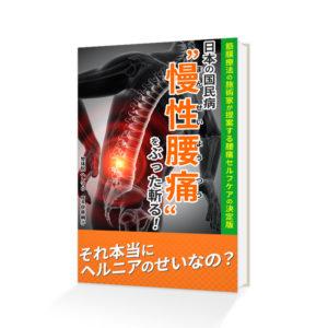 日本の国民病慢性腰痛をぶった斬る!
