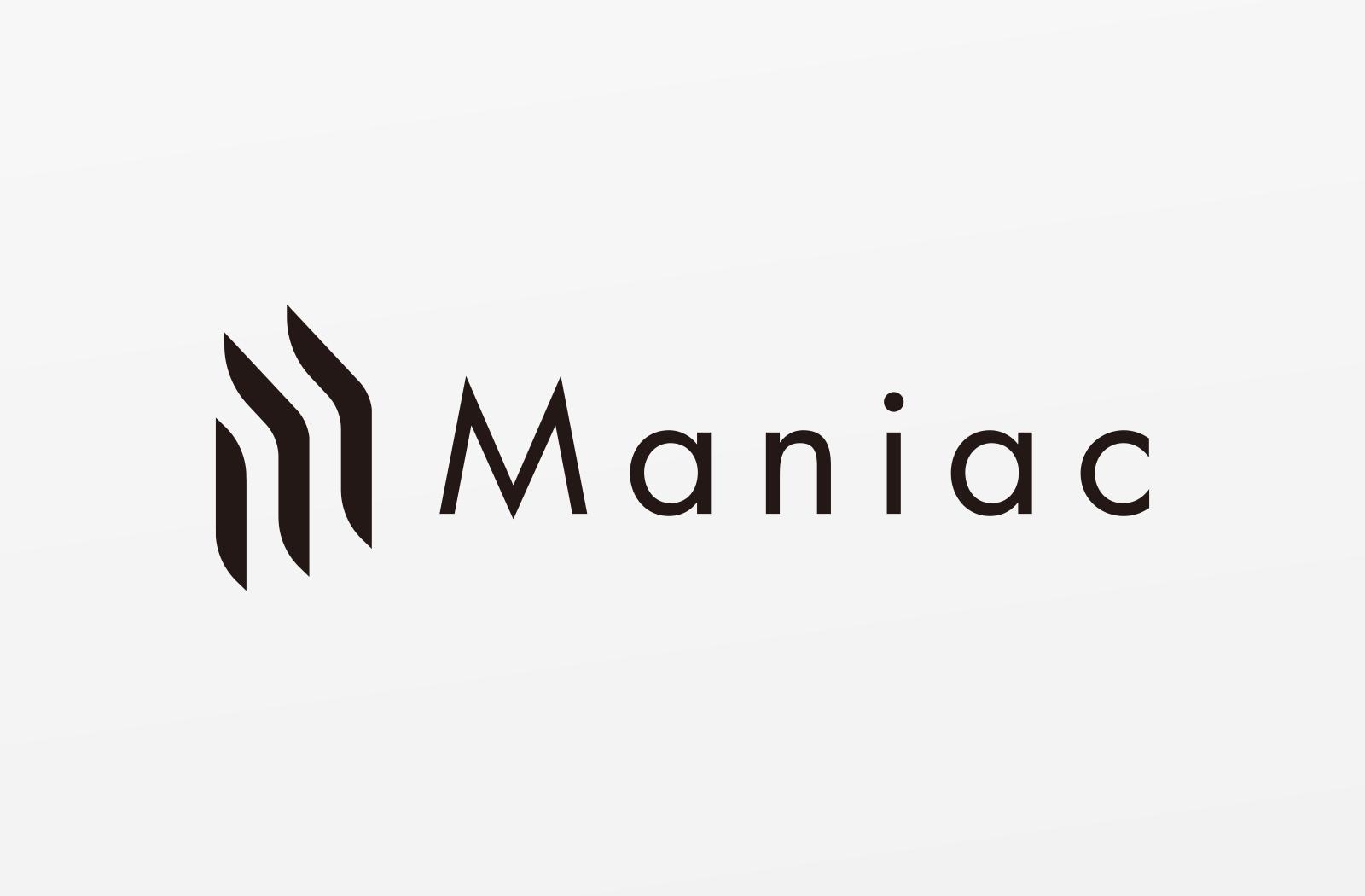 Maniac ロゴデザイン