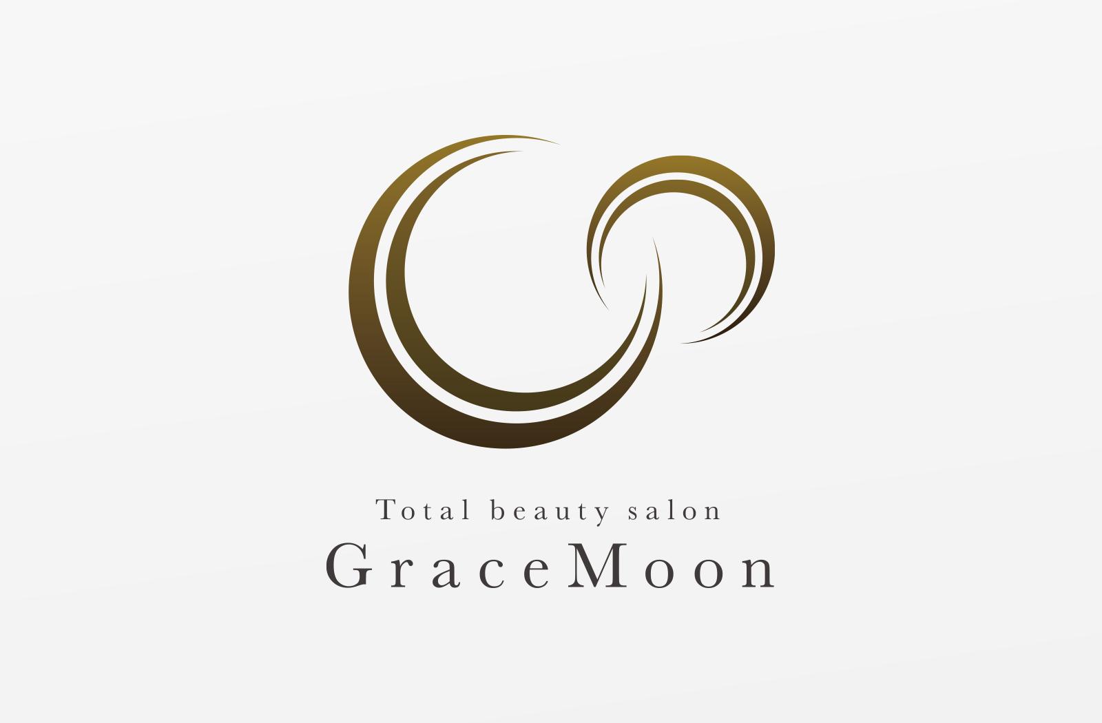 エステティック事業を展開されている「GraceMoon」様のロゴデザイン