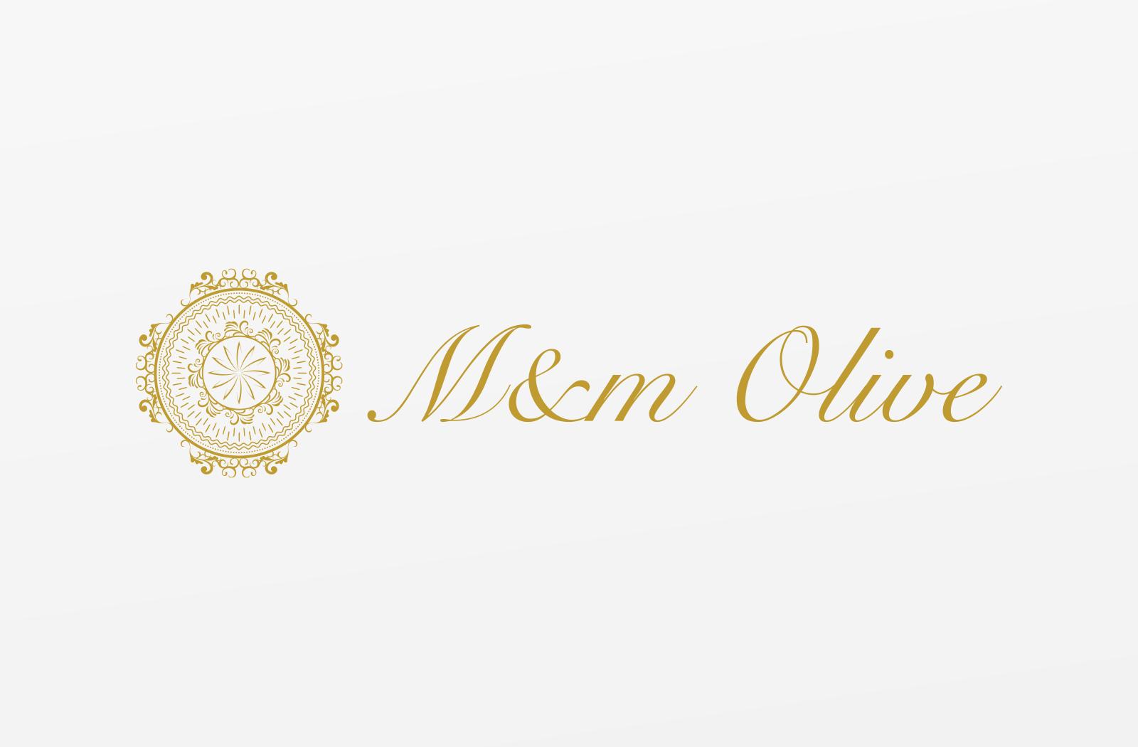 オリーブオイルの輸入や小売をされている「M&m Olive」様のロゴデザイン