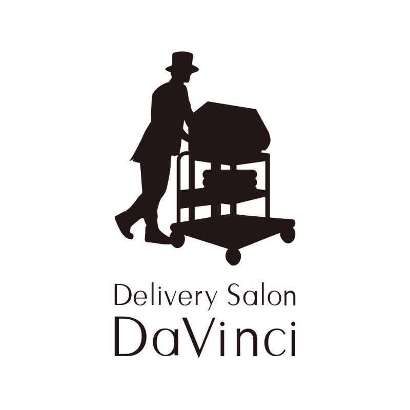 男性専用の出張脱毛サービス「Davinci」様のロゴデザイン