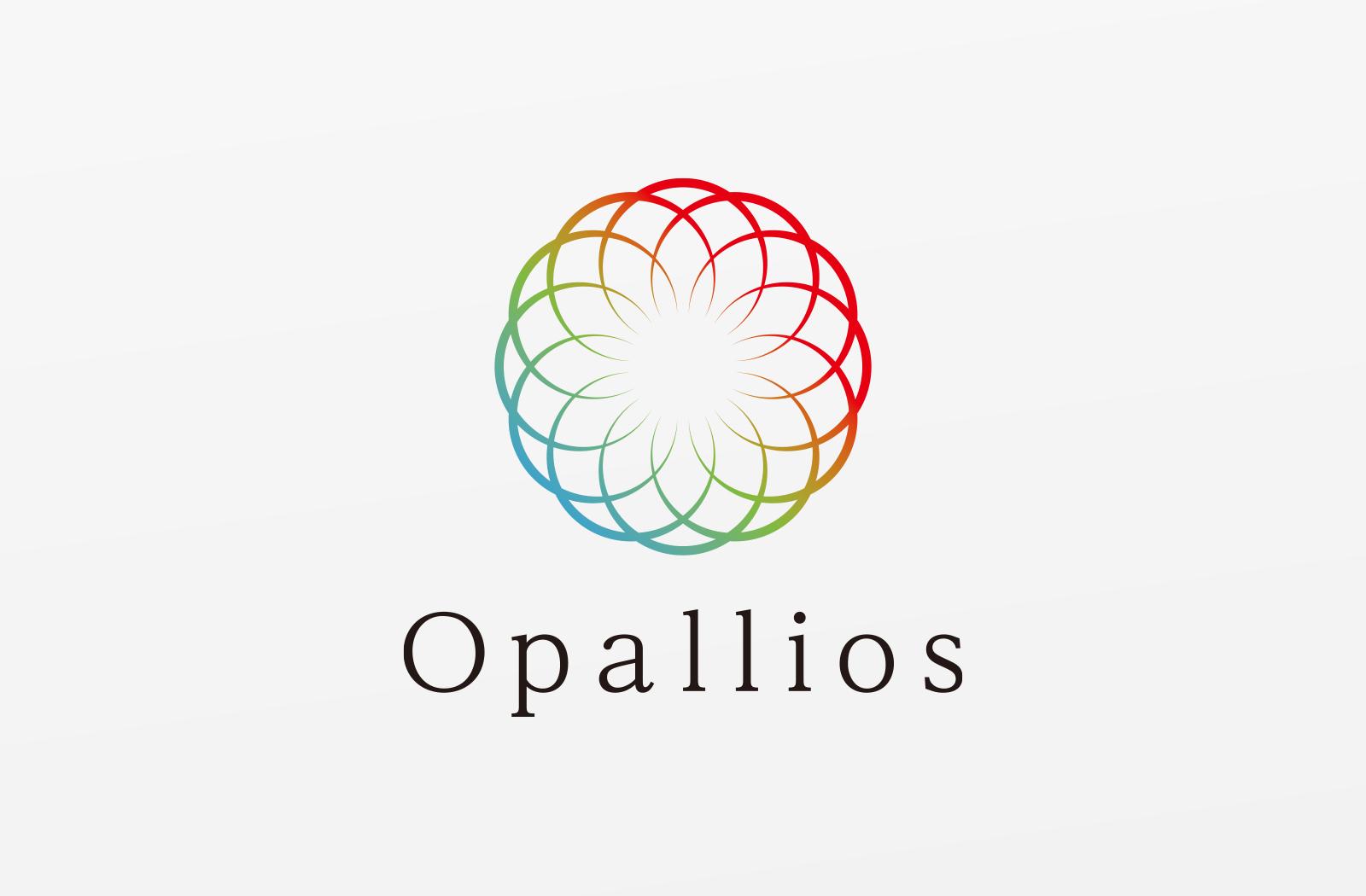 小売業、ネットショップの「Opallios」様のロゴデザイン