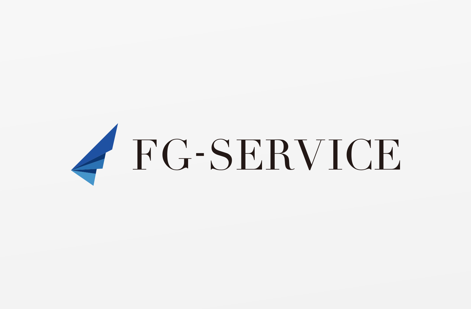 税理士紹介サービスの「FG-SERVICE株式会社」様のロゴデザイン